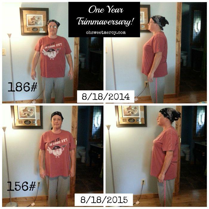 My Trim Healthy Mama Trimmaversary - One Year Later | Oh Sweet Mercy #THM #testimonials #ohsweetmercy