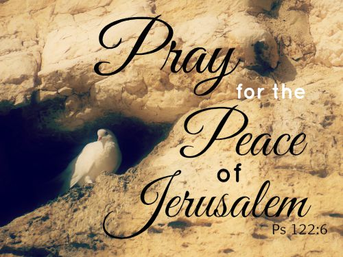 Pray for the Peace of Jerusalem #ohsweetmercy