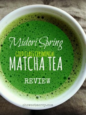 Midori Spring Ceremonial Grade Matcha Tea – Review