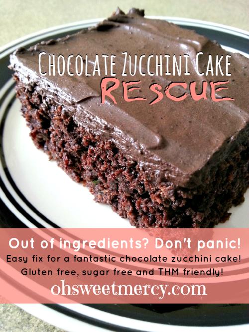 Chocolate Zucchini Cake Trim Healthy Mama
