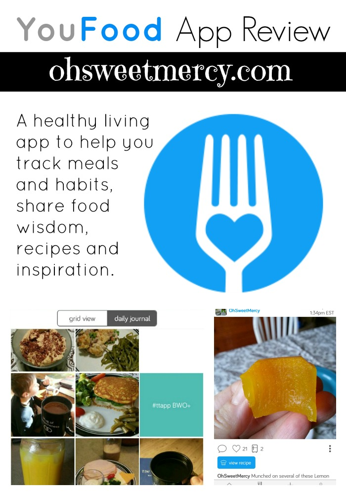 TwoGrand is Now YouFood! And It's Still Hand Held Awesomeness | Oh Sweet Mercy #reviews #apps #healthyeating #thm #lifestyle #youfood #ohsweetmercy