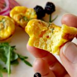 Spring Chive Cheesy Egg Puffs | THM S, Low Carb, Keto