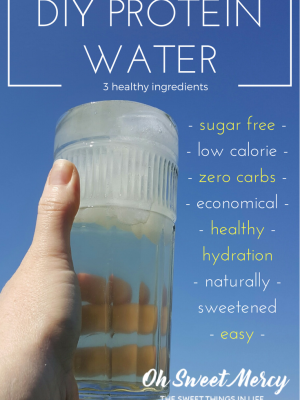 How to Make Your Own Protein Water with SweetLeaf WaterDrops