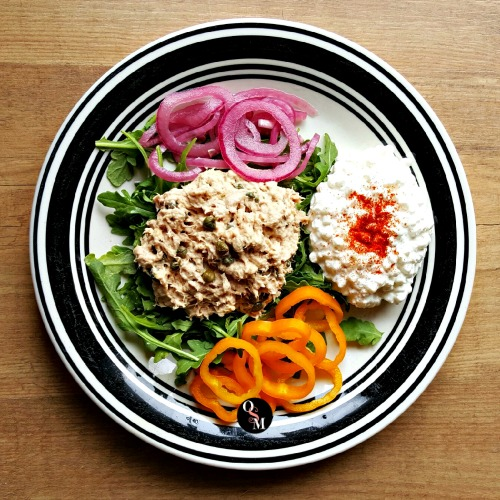 Tuna & Caper Salad | Oh Sweet Mercy #recipes #thm #lowcarb #capers #ohsweetmercy