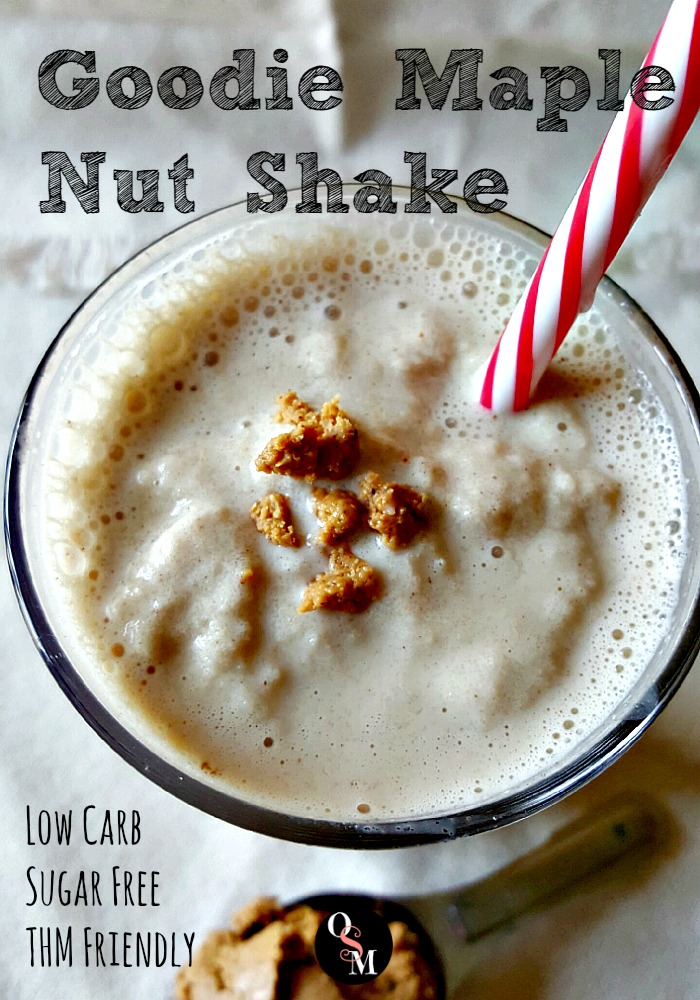 Goodie Maple Nut Shake   Oh Sweet Mercy #easy #healthy #thm #recipes #shakes #sugarfree #lowcarb #ohsweetmercy