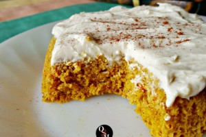 Carrot Cake with Caramel Cream Cheese Frosting | Oh Sweet Mercy #thm #recipes #glutenfree #sugarfree #grainfree #redpalmoil #ohsweetmercy