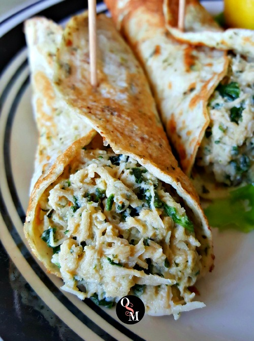 Chicken Florentine Wonders | Oh Sweet Mercy #lowcarb #lowfat #grainfree #glutenfree #thm #recipes #ohsweetmercy