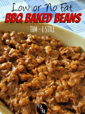 BBQ Baked Beans – Low or No Fat