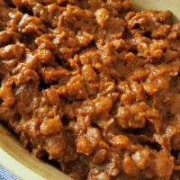 BBQ Baked Beans - Low or No Fat