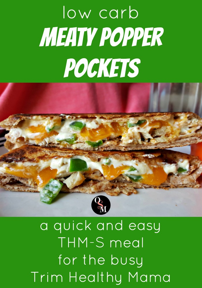 Low Carb Meaty Popper Pockets | Oh Sweet Mercy #easy #lowcarb #thm #recipes #ohsweetmercy