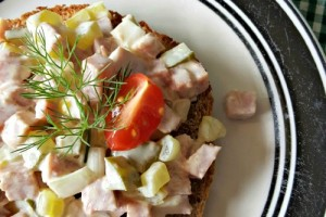 Turkey Ham Salad | Oh Sweet Mercy #easy #thm #recipes #summer #ohsweetmercy