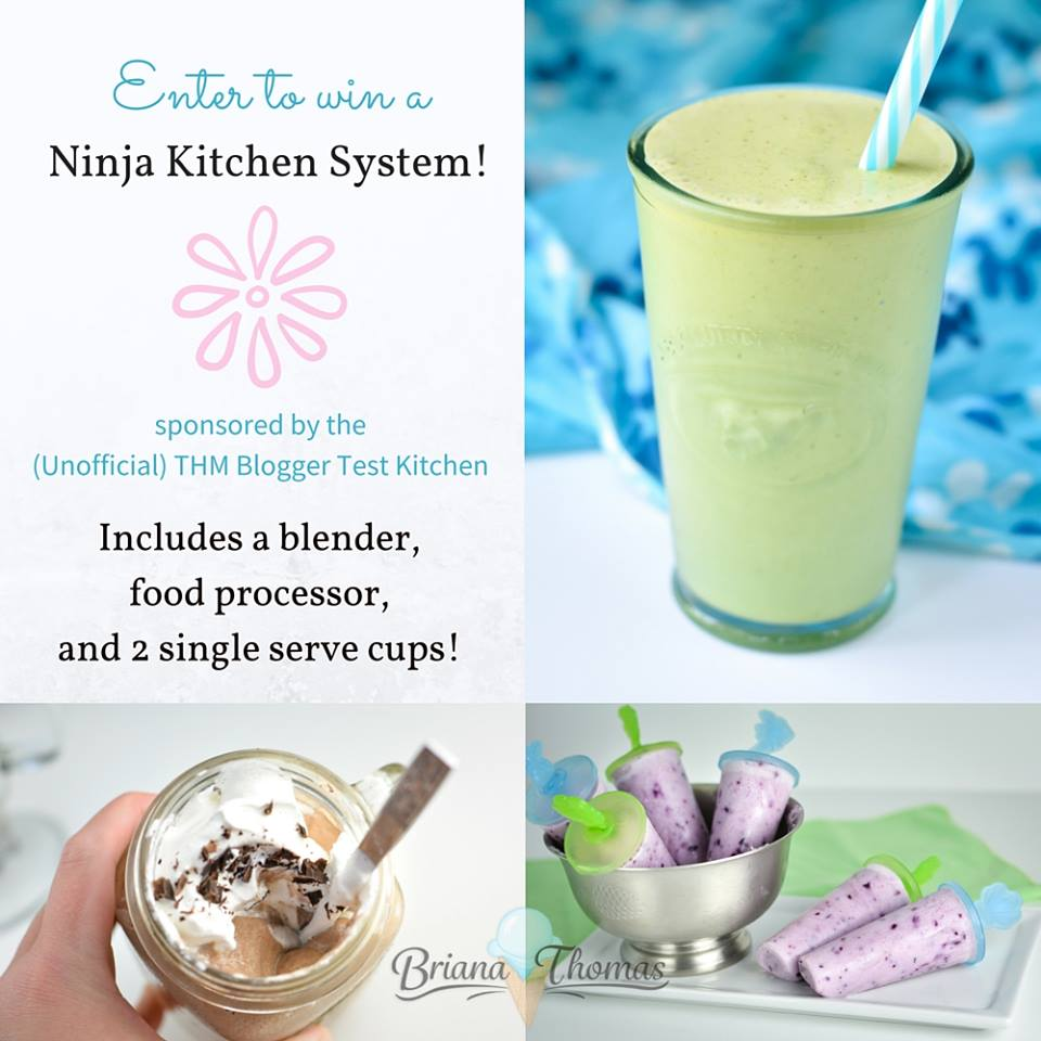 Ninja Blender System Giveaway from the THM Blogger Test Kitchen! | Oh Sweet Mercy #thm #giveaways #ohsweetmercy