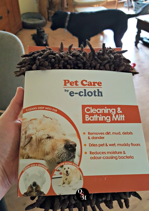 How to Clean Your Dog's Coat Without Shampoo - e-cloth Review | #reviews #naturalcleaning #ecloth #naturalliving