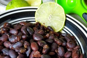 How to Make Chili Lime Black Beans in the Instant Pot | Oh Sweet Mercy #thm #lowfat #instantpot #recipes #ohsweetmercy