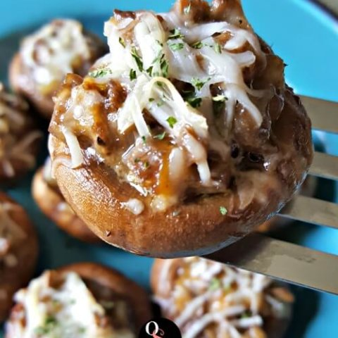 Easy Grain Free Stuffed Mushrooms - Oh Sweet Mercy