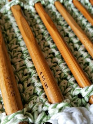 The Bamboo DIY Crochet Hook Roll {My Crochet Adventure}