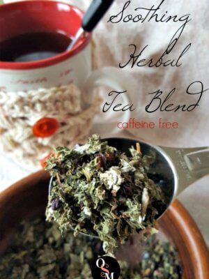 A Soothing Herbal Tea Blend to Help You Unwind