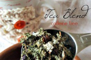 Soothing Herbal Tea Blend | Oh Sweet Mercy #herbs #teas #recipes #natural #ohsweetmercy