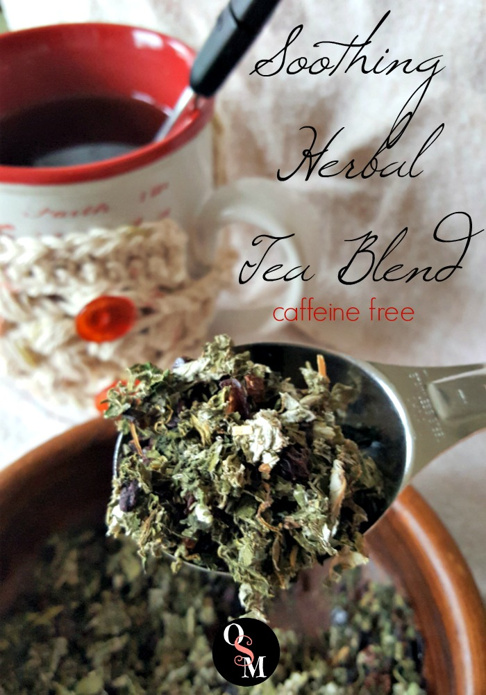 Soothing Herbal Tea Blend | Oh Sweet Mercy #herbs #teas #recipes #natural #ohsweetmercy