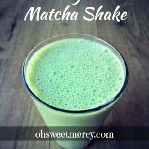 Creamy Mint Matcha Shake | THM S or FP