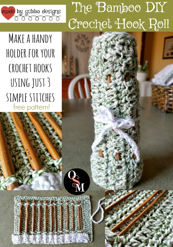 Keep your hands busy with this easy DIY Crochet Hook Roll project. #diy #easy #crochet #project