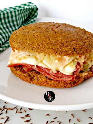 Low Carb Mock Rye Bread – It's Your Lucky Day!