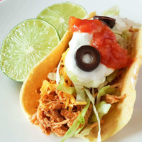30 Minute Chicken Tacos from Instant Pot to Table (S, E, or FP)