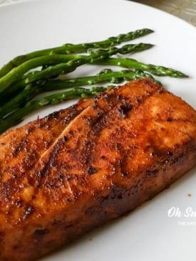 Easy Dry Rub Spicy Grilled Tuna