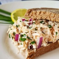 Lemon and Chive Chicken Salad