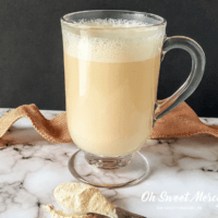 Hot Creamsicle Cocoa - Dairy Free, Sugar Free, and Nourishing