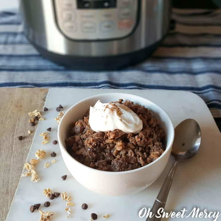Chocolate Java Instant Pot Oatmeal