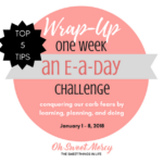 Top 5 Tips for THM E Meals and Snacks: Challenge Wrap-up