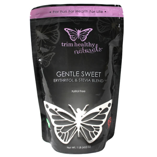 Gentle Sweet™ (Xylitol, Erythritol & Stevia Ground Blend) 16oz (3 Bags) – Trim Healthy Mama Store
