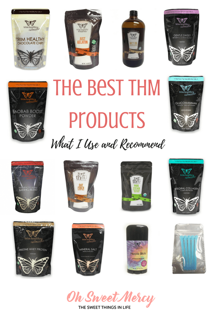 The Best THM Products - What I Use and Recommend