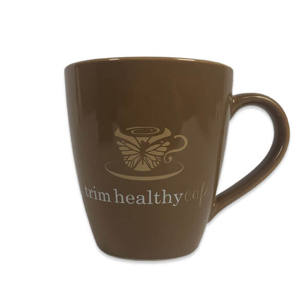 THM Trimmaccino mug, brown