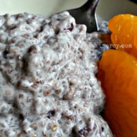 Chia Seed Pudding: Dairy Free and Delicious!  (NOT THM)