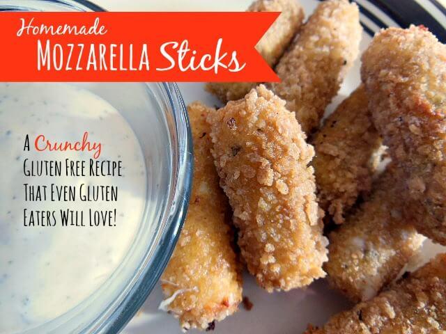 Homemade Mozzarella Cheese Sticks Make It Myself Monday