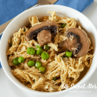 Quick and Easy Instant Pot Chicken 'n Peas