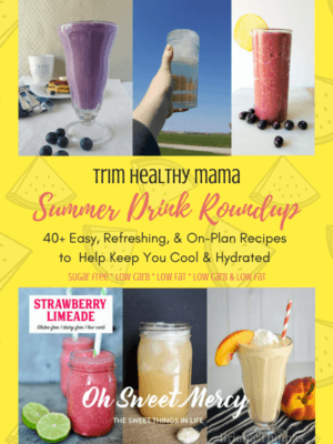 THM Drink Recipes to keep you cool and hydrated when the heat is on this summer!