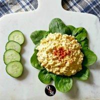 Creamy Ranch Egg Salad | THM S, Low Carb, Keto