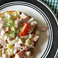 Turkey Ham Salad | THM S, Low Carb
