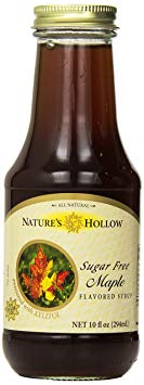 Nature's Hollow Sugar-Free Maple Flavored Syrup, 10 Ounce