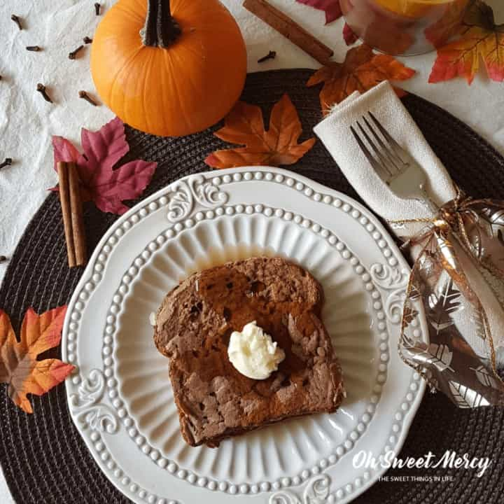 Pumpkin Spice French Toast - Low Fat, THM E
