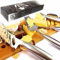 Solander Skelf Cheese Slicer, Cutter, Wire Cutter, Spreader Knife