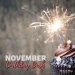 November Birthday Bash Giveaway! Celebrate All Month Long!