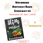 Slim and Satisfied Handbook Review, Giveaway, & Recipe Peek!