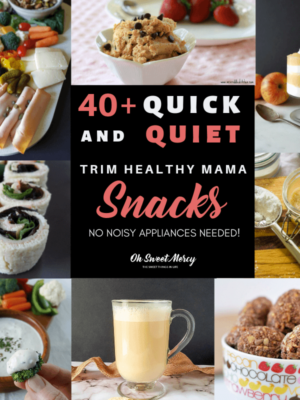 Quick and Quiet THM Snacks - No Appliances Needed! These easy snacks help keep you on plan (and not hangry). #easy #thm #snacks