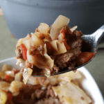 Easy Cabbage and Sausage Stew | THM S, Low Carb