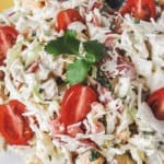 Crazy Chicken Cabbage Salad | THM S, Low Carb