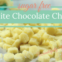 White Chocolate Chips | Wonderfully Made and Dearly Loved